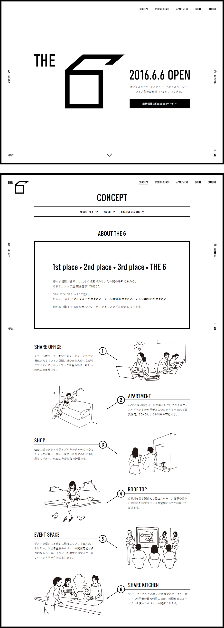 http://the6.jp/