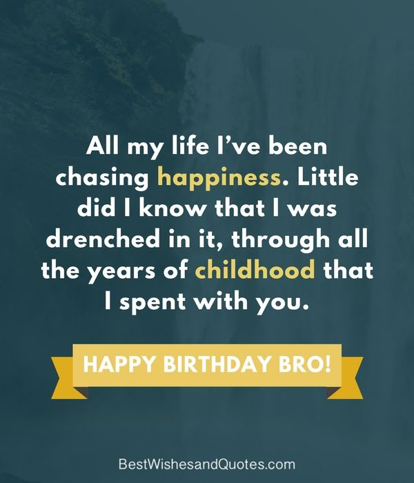 Happy Birthday Wishes For A Brother Happy Birthday Brother Messages Happy Birthday Brother Happy Birthday Brother Quotes