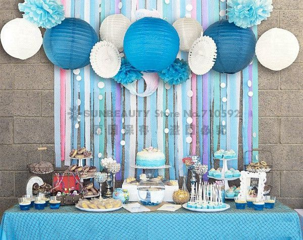 Baby Shower Set of 13 BeachThemed Party Under the Sea Party
