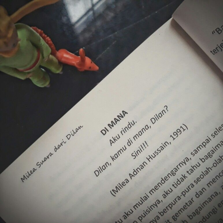 Milea Dilanku Dilan Kutipan Buku Buku Kutipan Motivasi