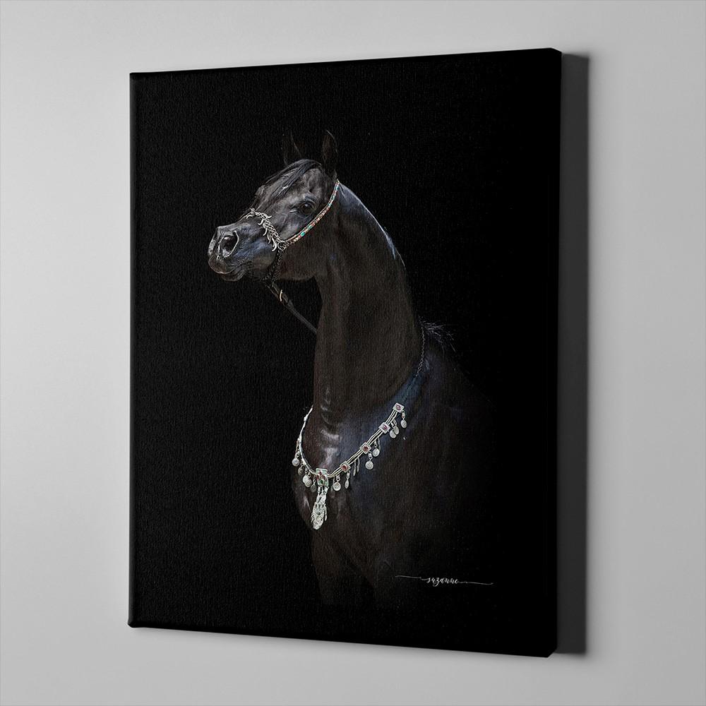 Bari Gallery بيلاجيو خيل عربي أصيل 1 لوحة كانفس لوحة فنية جدارية للمنزل Art Horses Character
