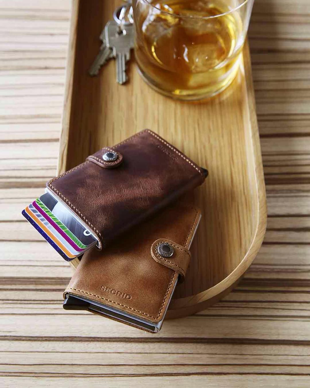 8b44b8bd03d Secrid Miniwallet Vintage Brown & Vintage Cognac • #Secrid | LEATHER ...