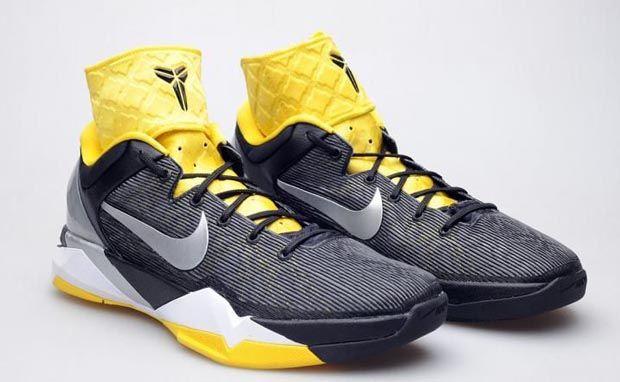 9010f18291a2 Nike Zoom Kobe VII Supreme Black Tour Yellow Deconstructed