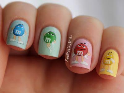 M's / Rainbow Nails