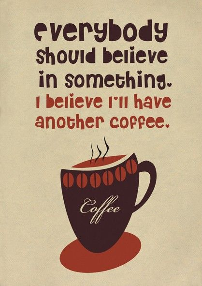 does everyone have their coffee this morning while you re sipping