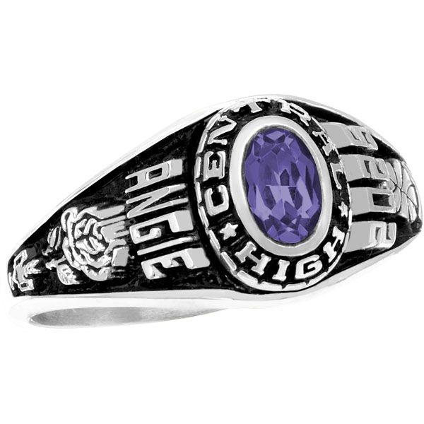 """My daughter got her class ring! Love it!"" - Kristi M ... |Womens High School Class Rings"
