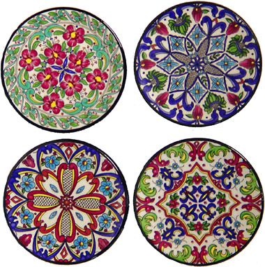 ceramic coasters from Spain  sc 1 st  Pinterest & ceramic coasters from Spain | Portavasos | Pinterest | Ceramic ...