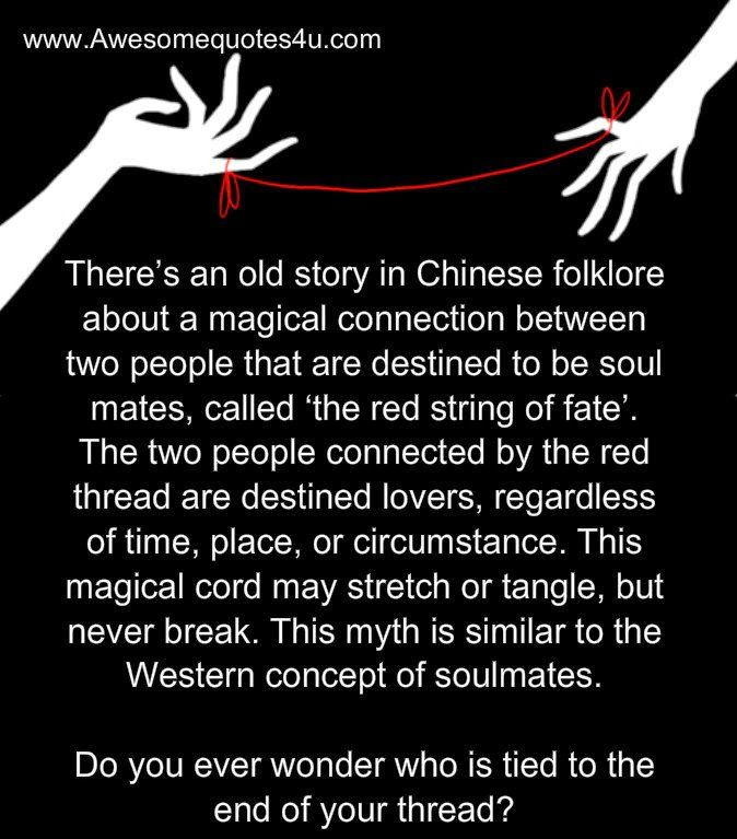 399077801 Red String Of Fate Quotes | Qoutes | Fate quotes, Relationship ...