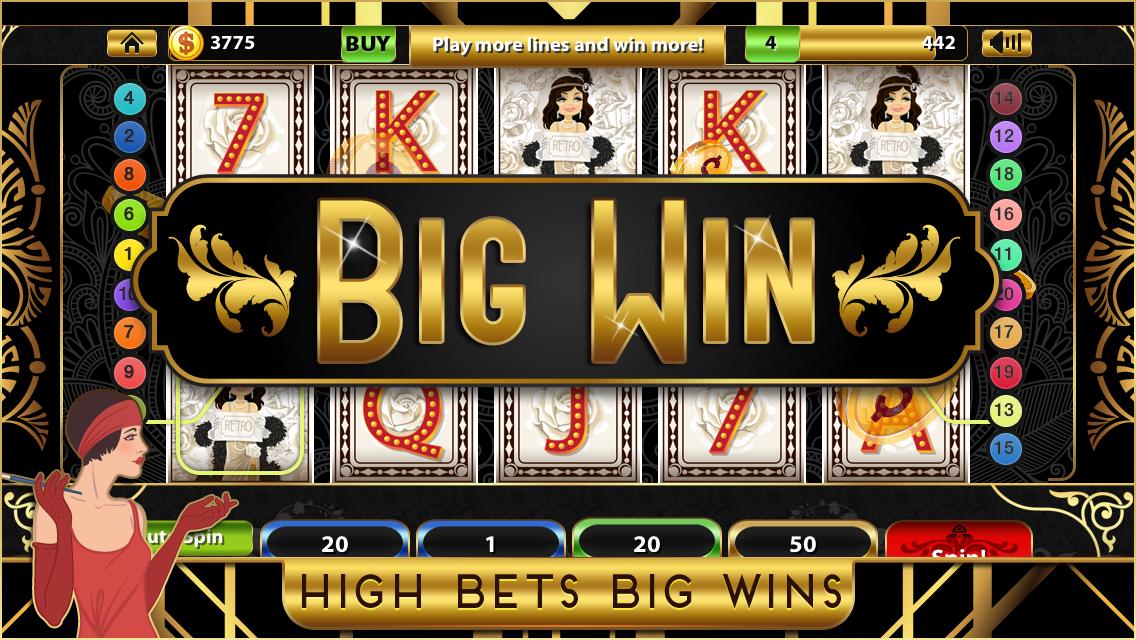 Play Roaring Twenties Slot Machine Free with No Download