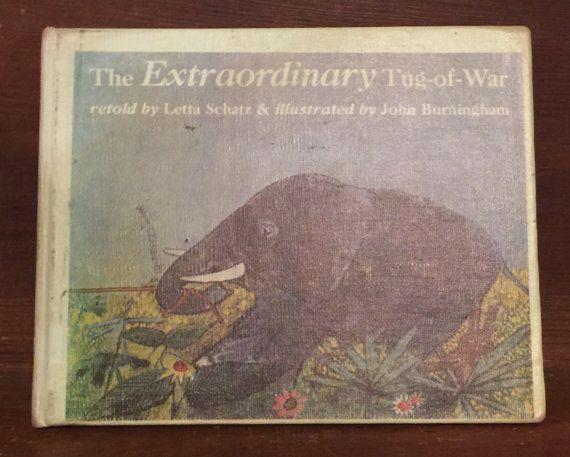 The Extraordinary Tug-of-War by ReadeemedBooks on Etsy