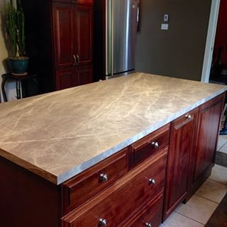 Sequoia Formica Kitchen This Looks Like Soapstone Very Light