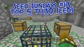 Minecraft - Top 5 Best TU39 Seeds! (Minecraft PS4, Xbox One, PS3