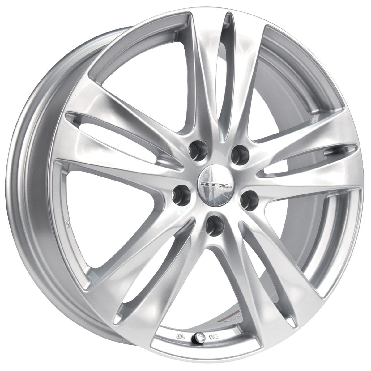 RTX Wheels - RTX OE - Osan Grandeur/Size : 16X6.5 / 17X7 / 18X6.5 http://www.rtxwheels.com/en/wheels/rtxwheels-osan-silver
