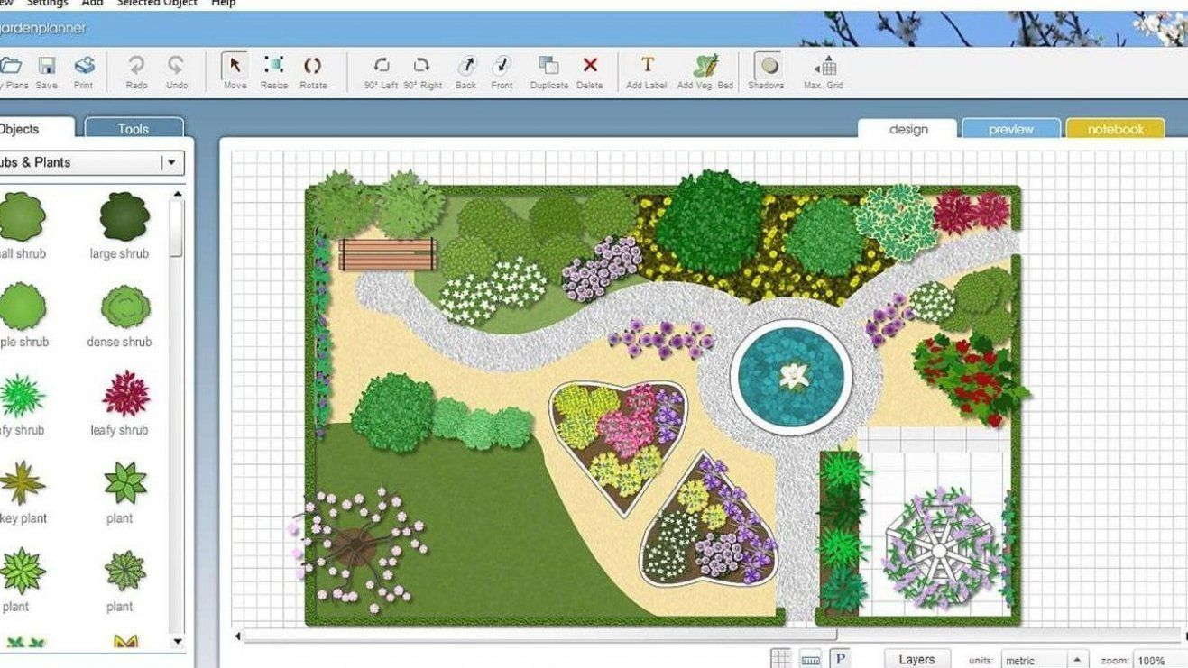 Garden Planner 3 For Windows 10 Free Download And Amazing Wall Decor Ideas For Love Garden Planner Garden Landscape Design Free Landscape Design Software