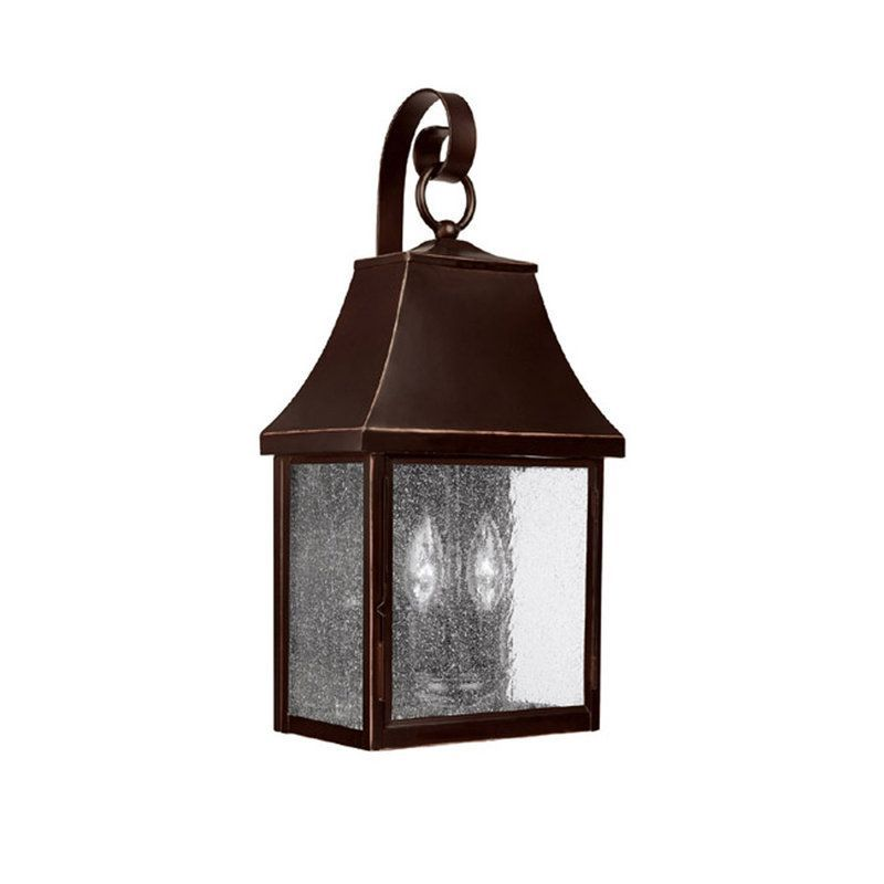 View the Capital Lighting 9062 Collins Hill 2 Light Outdoor Wall Sconce at LightingDirect.com.