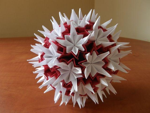 Papierowa Kula Paper Balls Christmas Crafts Crafts