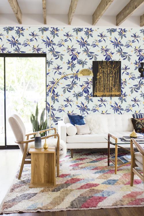 Loquat Love Traditional Prepasted Wallpaper Samantha Santana Room Wallpaper Designs Room Wallpaper Traditional Wallpaper