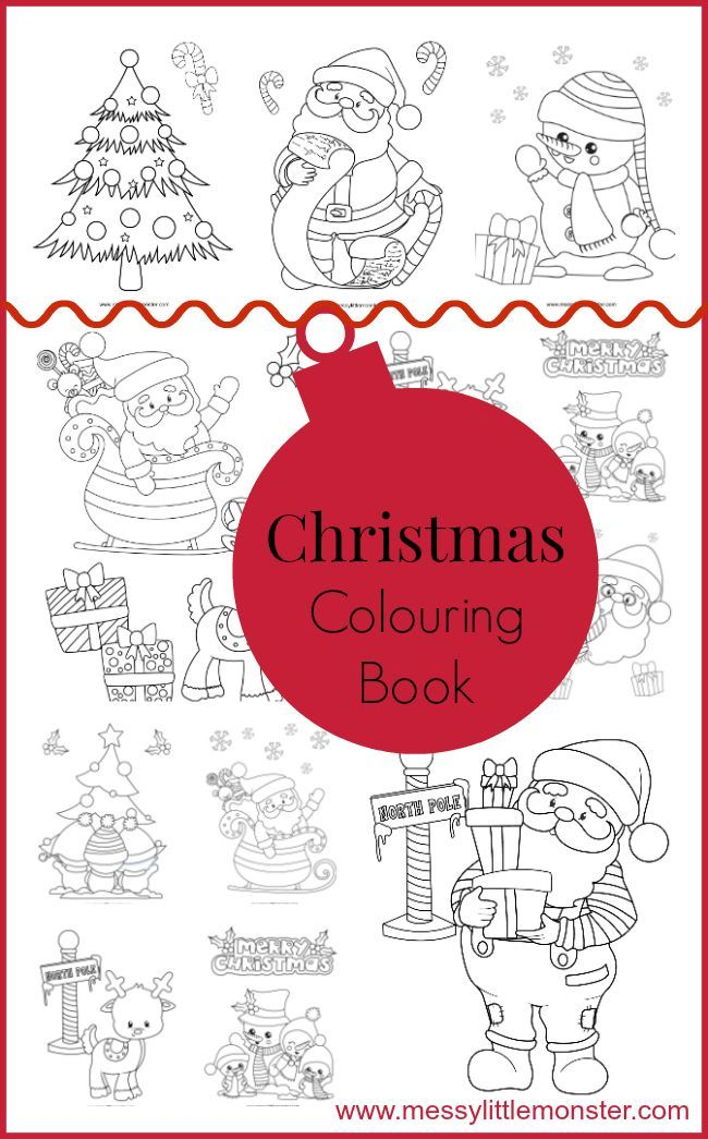 Christmas Colouring Pages Christmas coloring pages