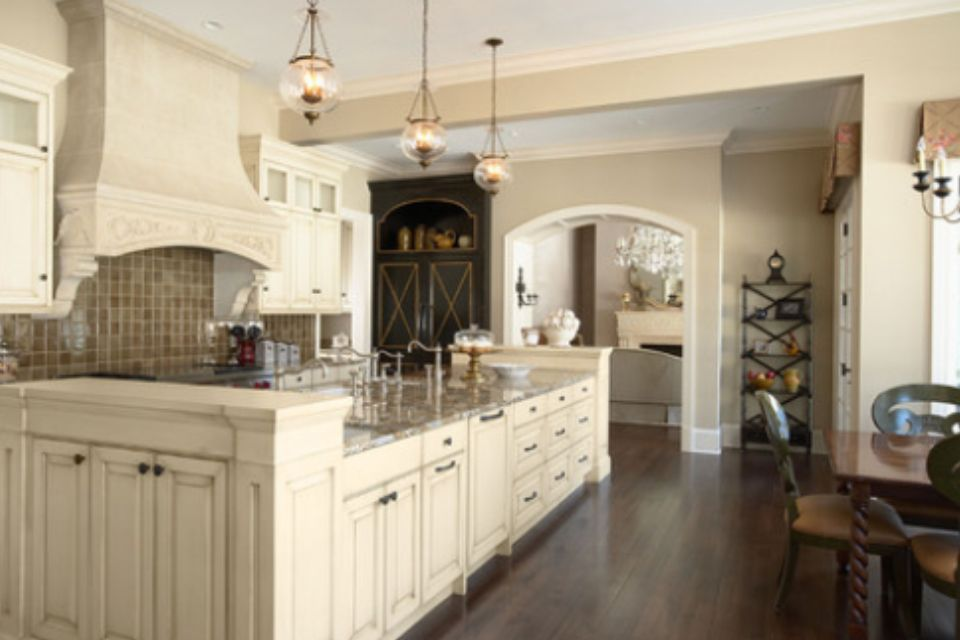 Softer Tan By Sherwin Williams Cream Colored Kitchen Cabinets