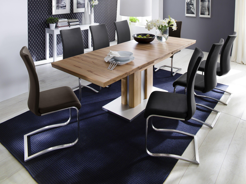 High Quality Esszimmer Set Tisch Kernbuche Massiv 160x90 Cm / Schwinger Schwarz Woody  41 01300 Holz Neutral Design Ideas