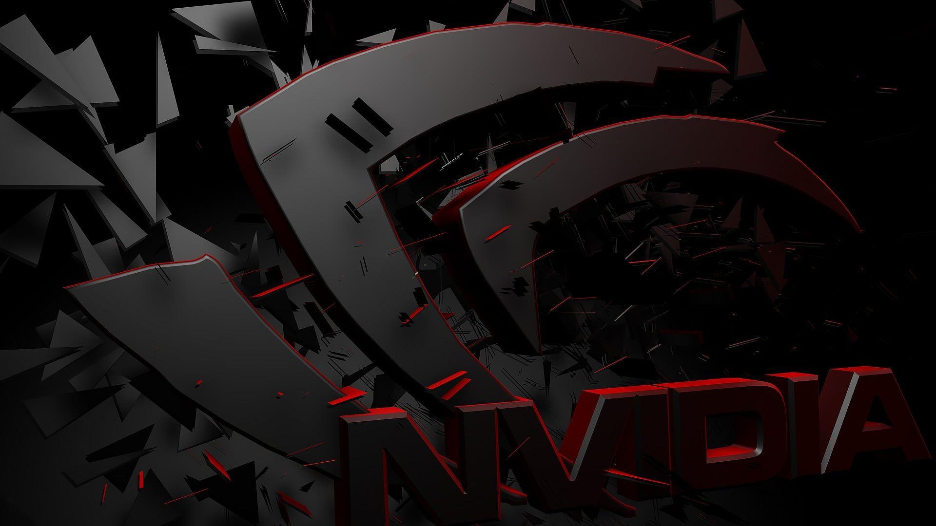 Nvdia Hd Wallpaper Nvidia Gpus Logo 3d Render 1080p Wallpaper Hdwallpaper Desktop In 2020 Red Wallpaper Hd Wallpaper Wallpaper