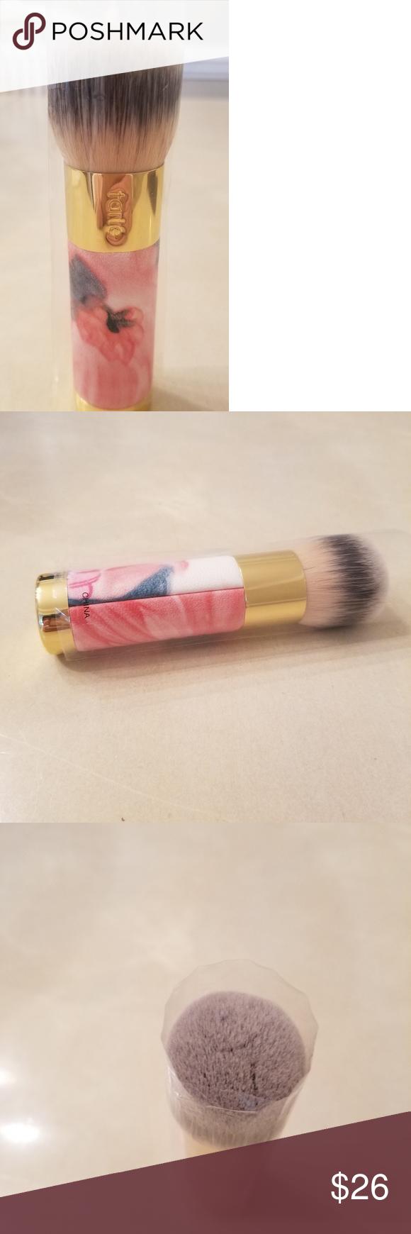 Brush Tarte makeup brushes, Brush, Makeup tools brushes