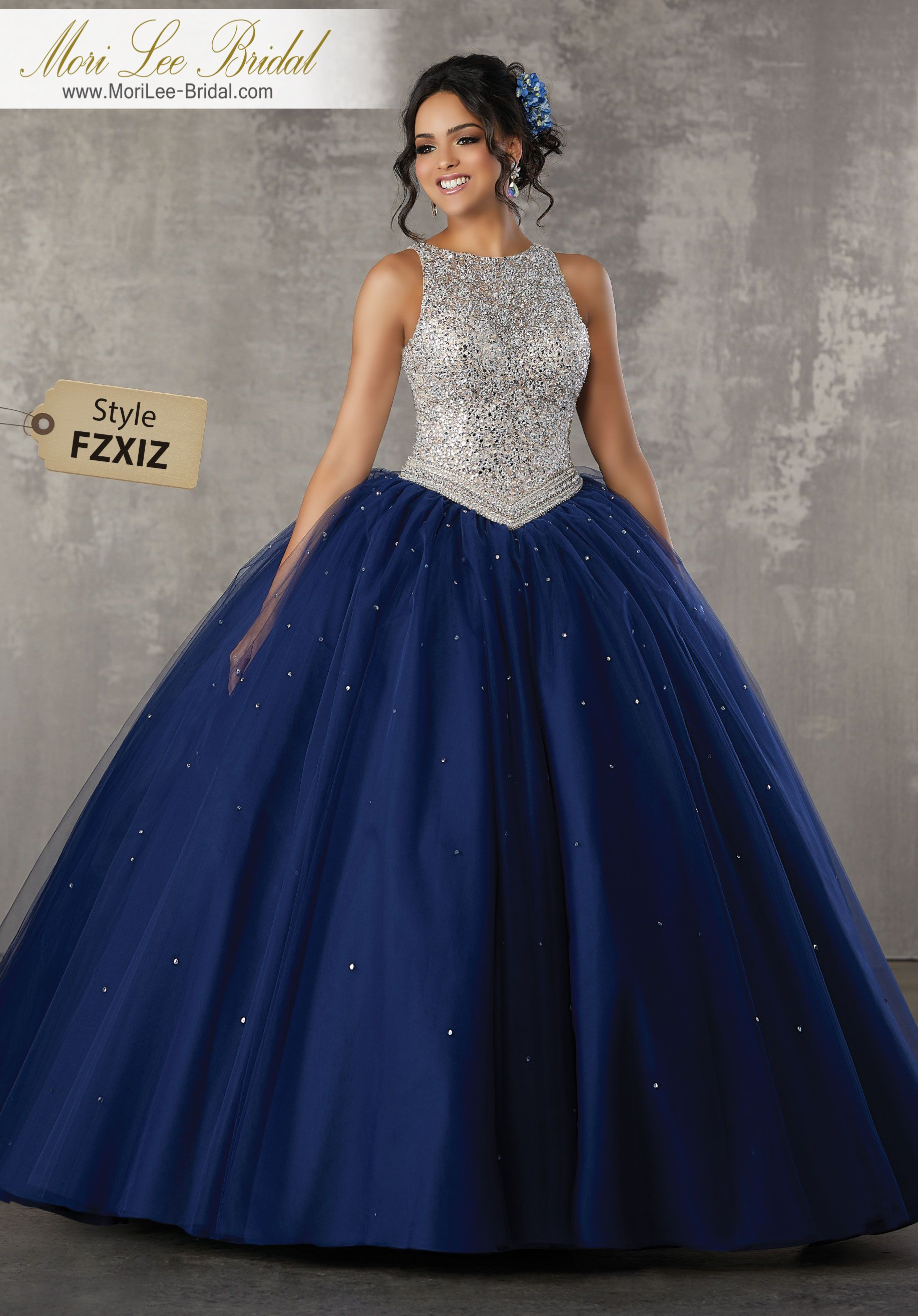 Style fzxiz allover beaded bodice on a tulle ball gown fresh and