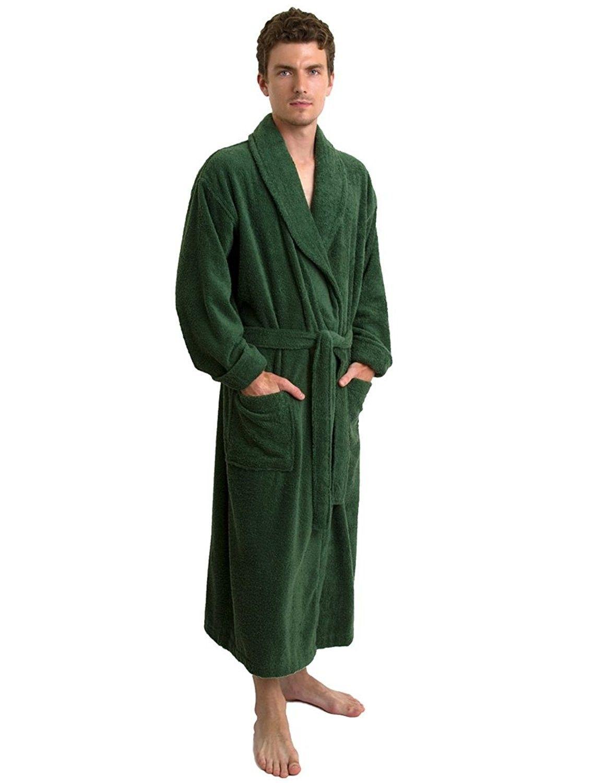 7652d2130315 Men s Robe- Turkish Cotton Terry Shawl Bathrobe Made in Turkey ...