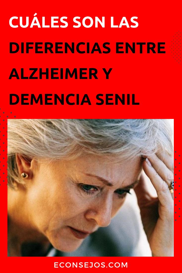 Demencia como senil la controlar