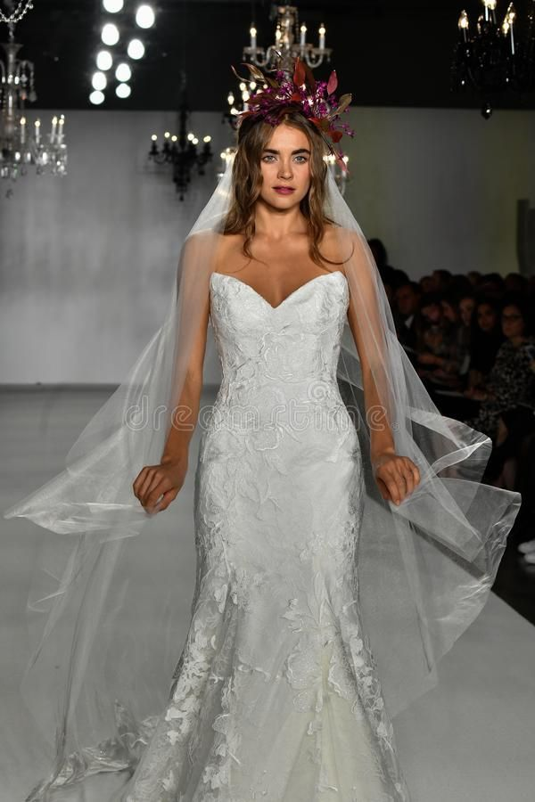 A model walks the runway during the Anne Barge Bridal 20th Anniversary 2020 Runw , #Affiliate, #Barge, #Bridal, #Anne, #model, #walks #ad #20thanniversarywedding A model walks the runway during the Anne Barge Bridal 20th Anniversary 2020 Runw , #Affiliate, #Barge, #Bridal, #Anne, #model, #walks #ad #20thanniversarywedding