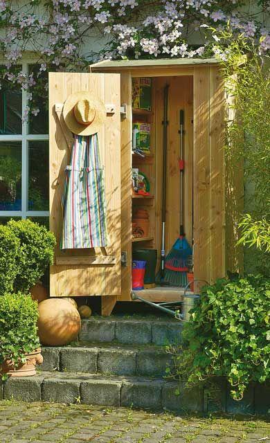 Gartenschrank Selber Bauen Garten Garden Little Gardens Und Outdoor