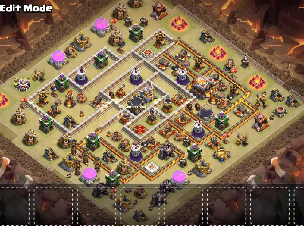 Base War Th 11 China 6