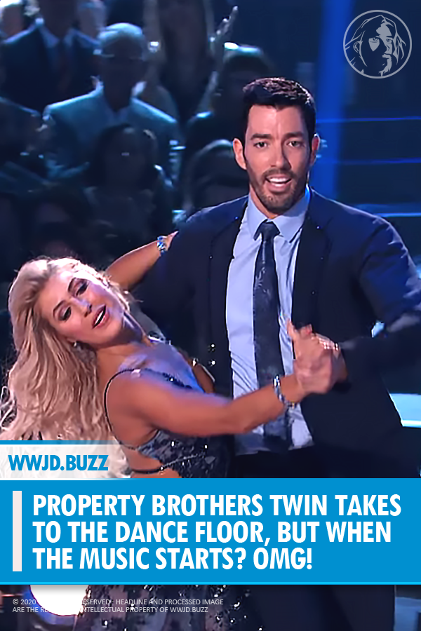 Property Brothers Twin Takes To The Dance Floor But When The Music Starts Omg Property Brothers Dancing With The Stars Dance Videos