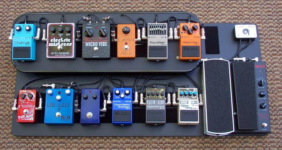 Overdrive Custom Guitar Works Pedalboard 1 99 Pedalboards Guitar Pedals Guitar Pedal Boards Pedalboard