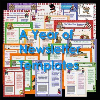 newsletter templates bundle of 42 ready to use templates