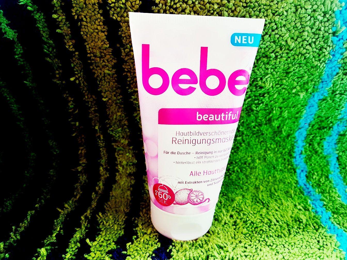 Bebe Beautiful Hautbildverschönernde Reinigungsmaske mit Extrakten von Zitrusschalen und Sojasamen