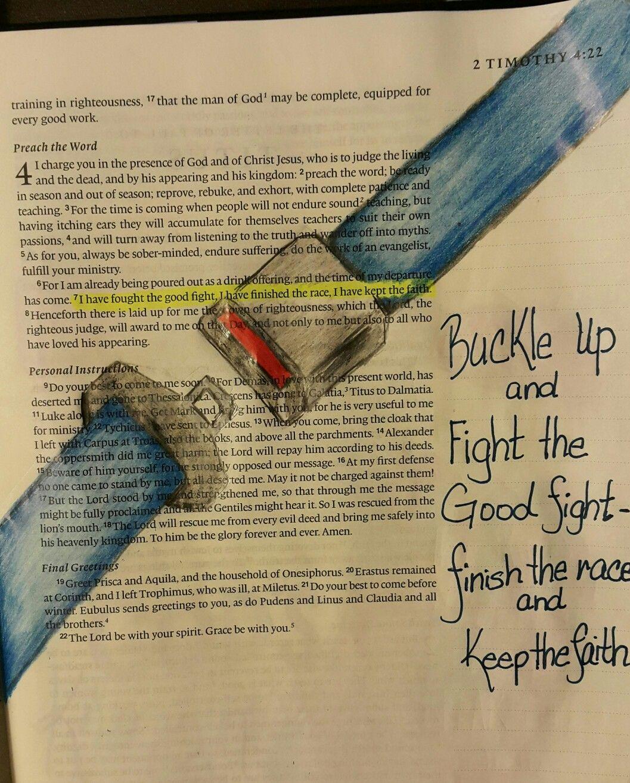 2 Timothy 47 Bible Journaling