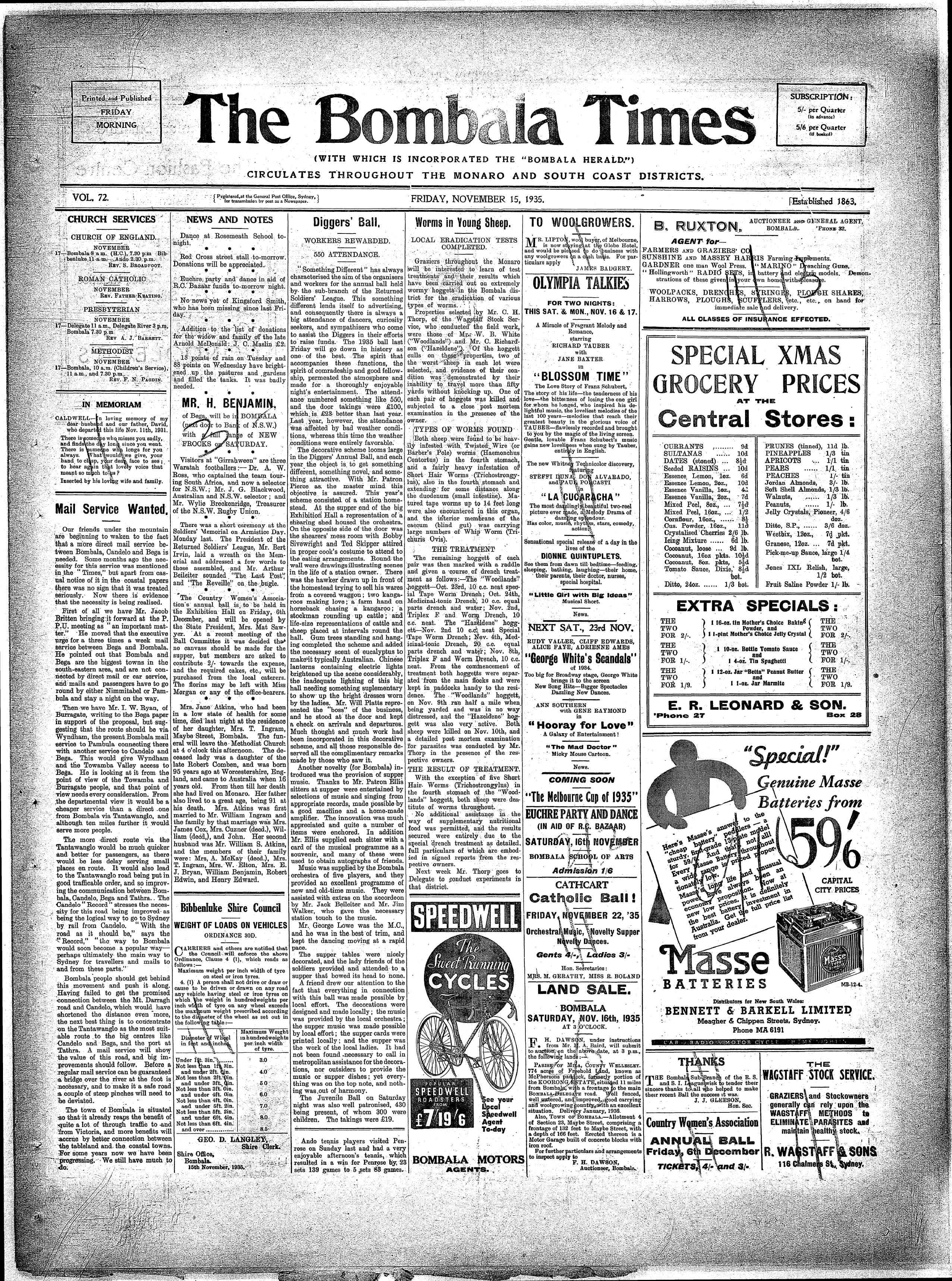 Bombala times nsw australian newspapers myheritage family discover your ancestry search birth marriage and death certificates census records immigration lists and other records all in one family search 1betcityfo Gallery