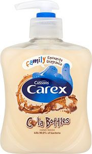 Buy Carex Cola Bottles Handwash 250ml Online In Tesco At