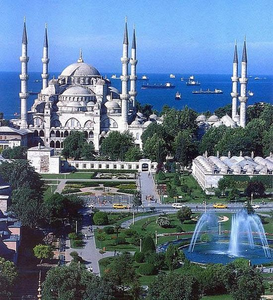 Istanbul with view to the sea