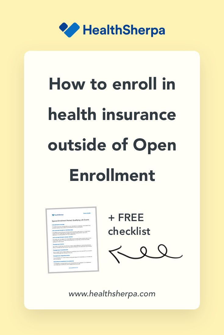 Whether You Re Applying For Health Insurance During Open