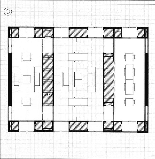 1996 - Maison sans qualité - O M Ungers Architectural drawings - plan architecturale de maison