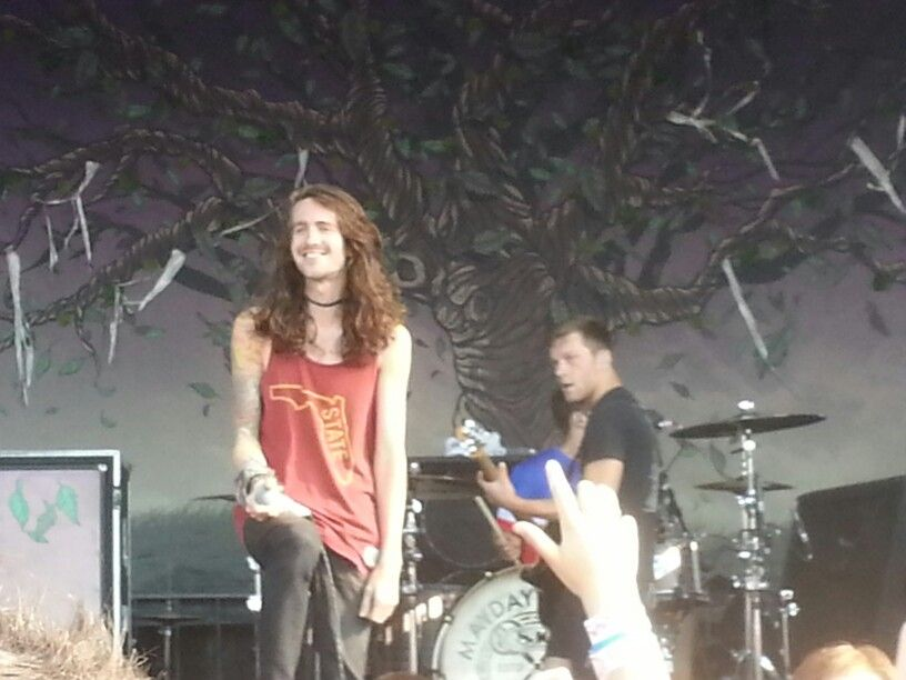 Derek Sanders from May day Parade