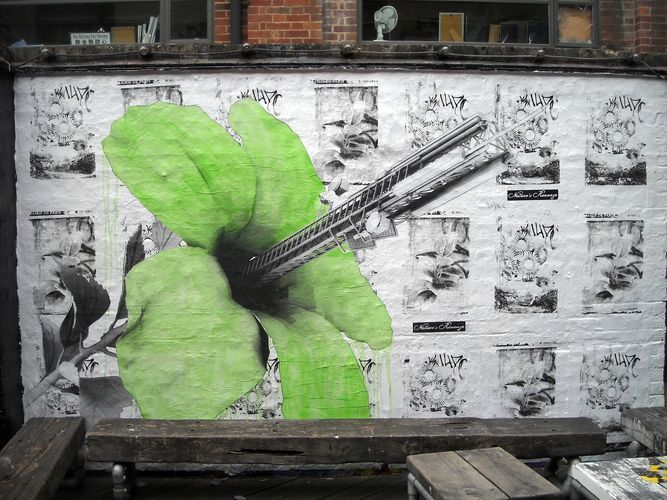 Throw Ups Par Ludo - Londres (Royaume Uni)