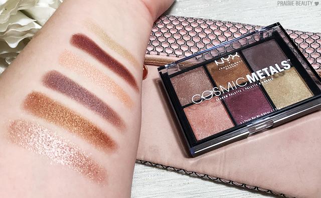 Review Nyx Cosmic Metals Shadow Palette Nyx Vegan List Makeup