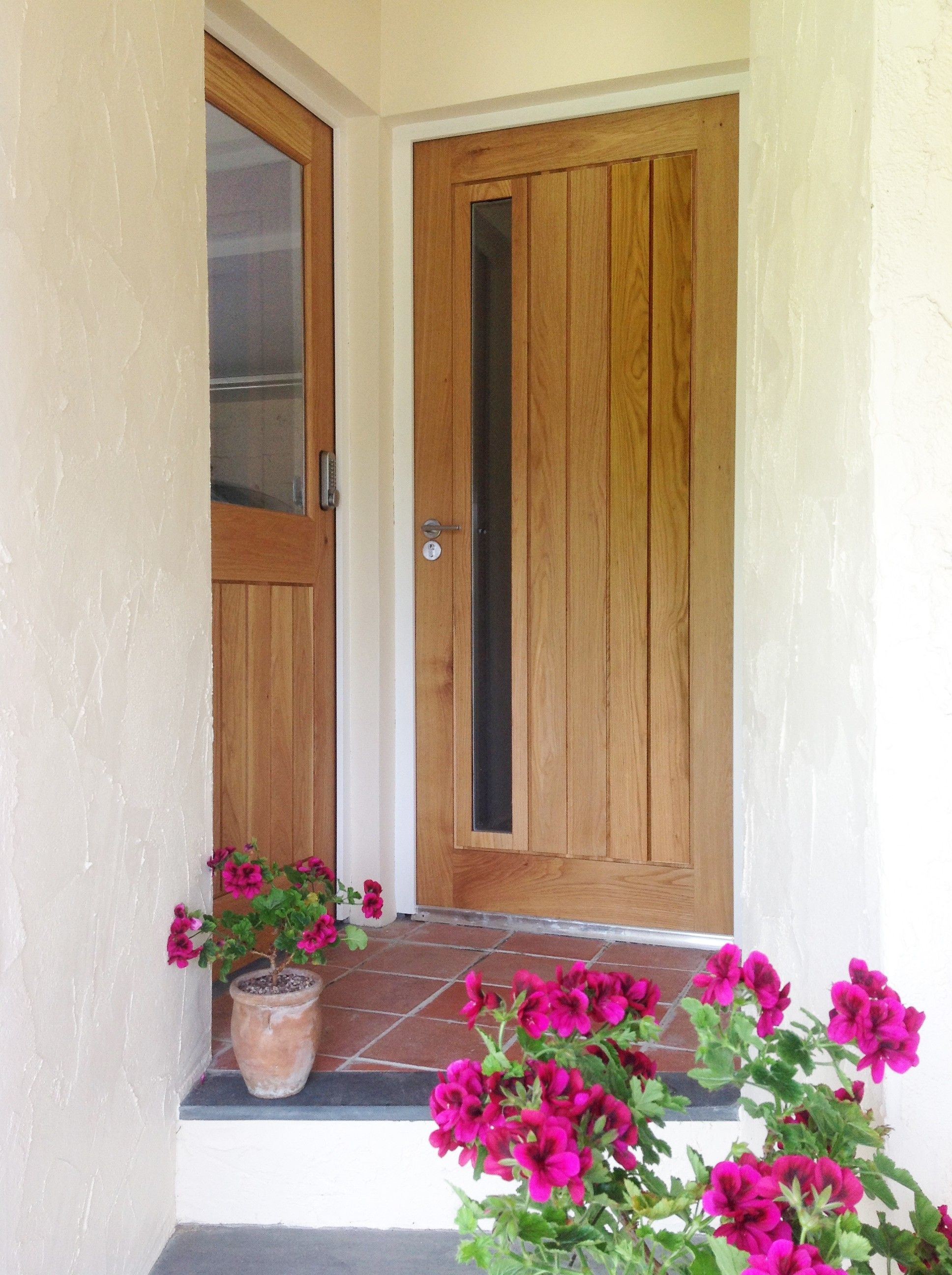 Solid oak mexicano contemporary external door solid oak doors mexicano contemporary external solid oak door rubansaba