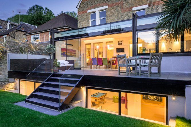Aa5480cd5453f6926cf47fe9f74ce1c9 Jpg 667 442 Pixels House Extension Design Architecture House Cellar Conversion