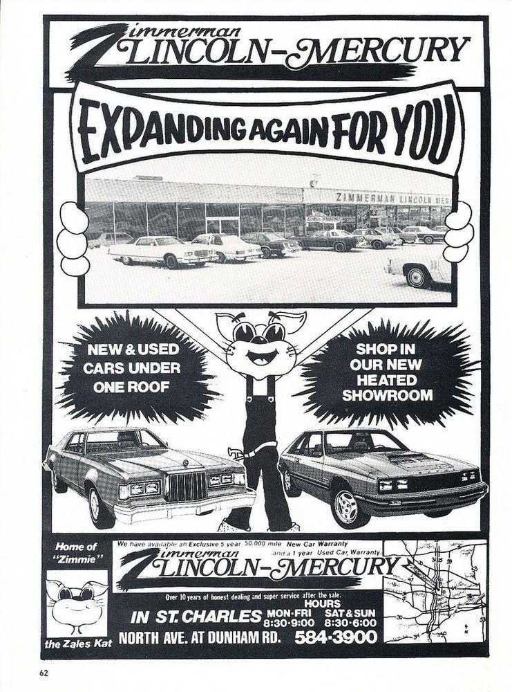 1979 Zimmerman Lincoln Mercury Dealership, St. Charles