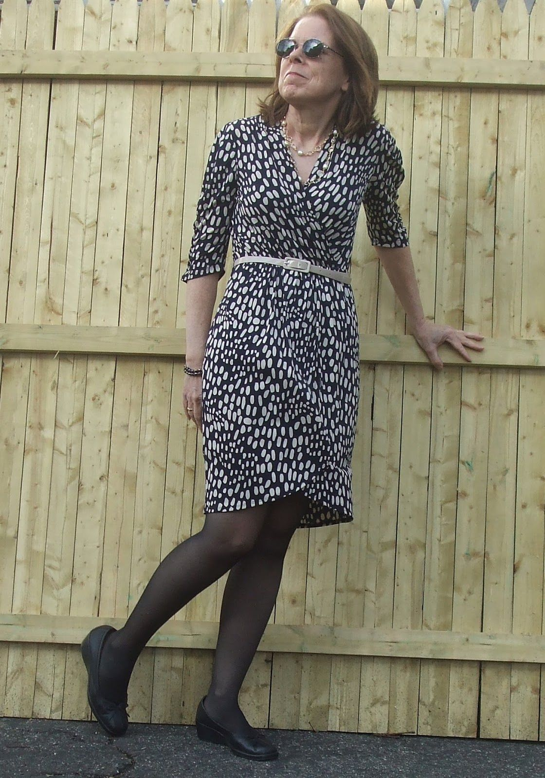 38128a8d74 Flattering dress styles for women over 50. Lots of good suggestions ...