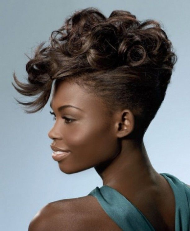 70 Most Gorgeous Mohawk Hairstyles Of Nowadays Mohawk Updo